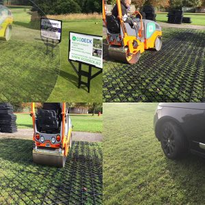 Parking And Driveway Grids