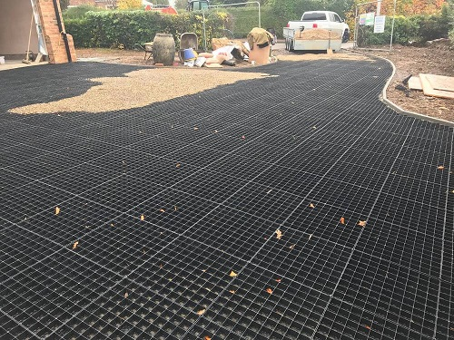 Grass Driveway 80hd Grids For Construction Amp Turning Areas